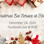 Christmas Eve Service at Home